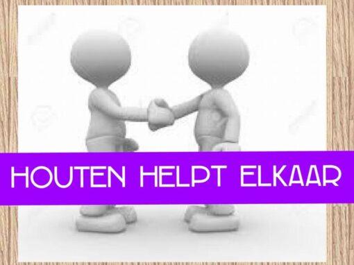 Houten helpt